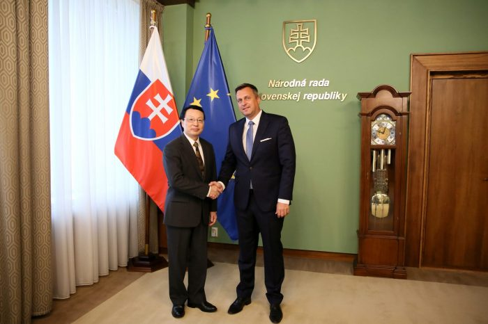 ANDREJ DANKO: Slovensko a Čína musia spolupracovať. Aj preto som pozval predsedu čínskeho parlamentu na Slovensko