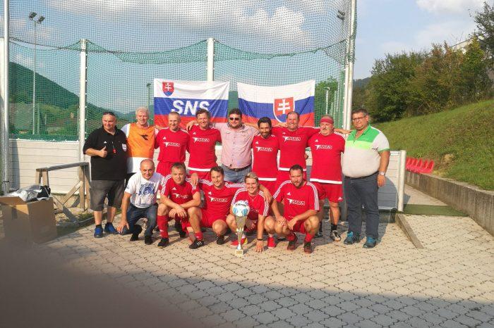 Futbalový turnaj internacionálov opohár predsedu SNS