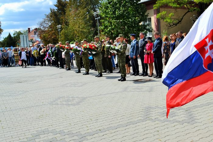spomienka na 75. výročie SNP v Topoľčanoch