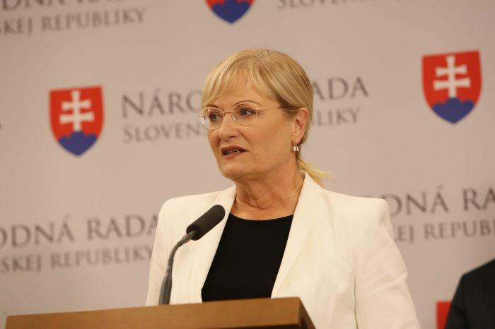 E. Smolíková - Pochod za ochranu života