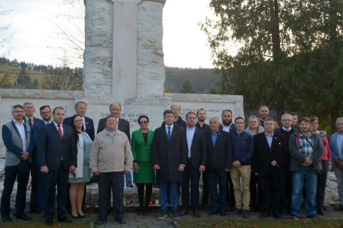 Spomienka na tragickú udalosť v Černovej