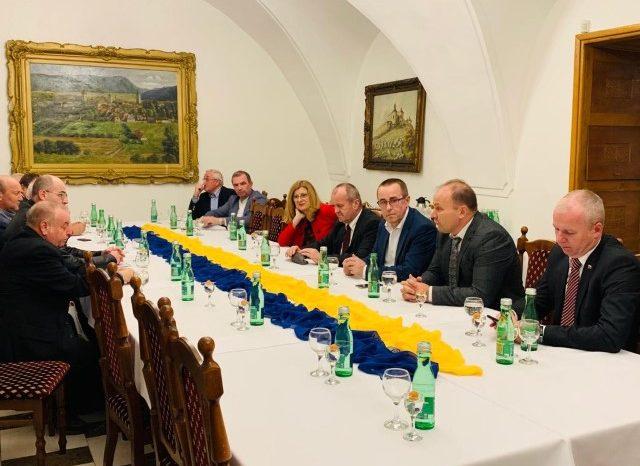 Pracovné stretnutie ministrov SR, primátorov astarostov Východného Slovenska
