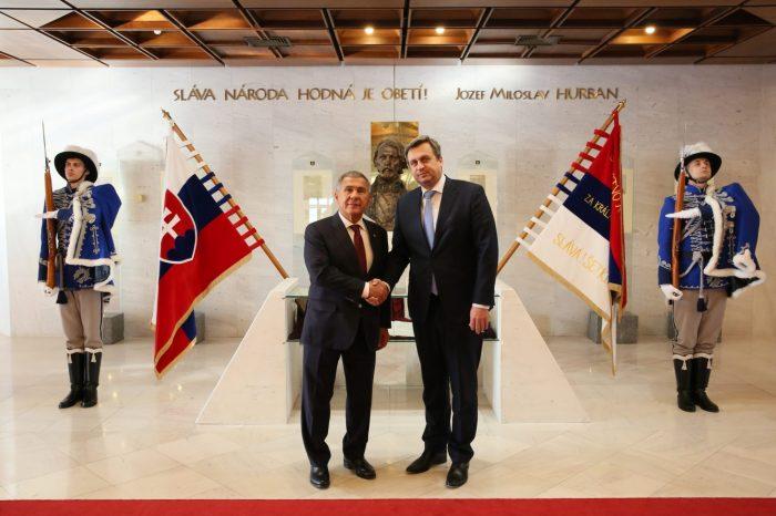 S prezidentom Tatárskej republiky