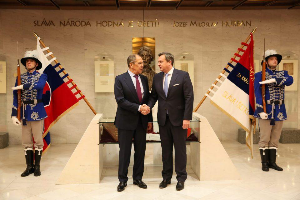 A. Danko - Stretnutie so Sergejom Lavrovom