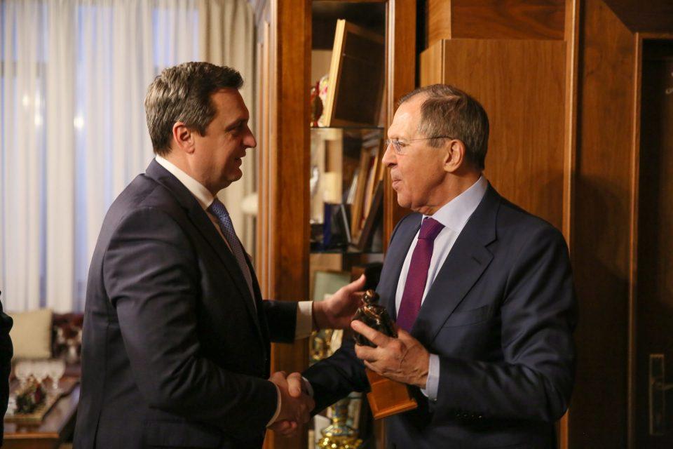 Stretnutie so Sergejom Lavrovom