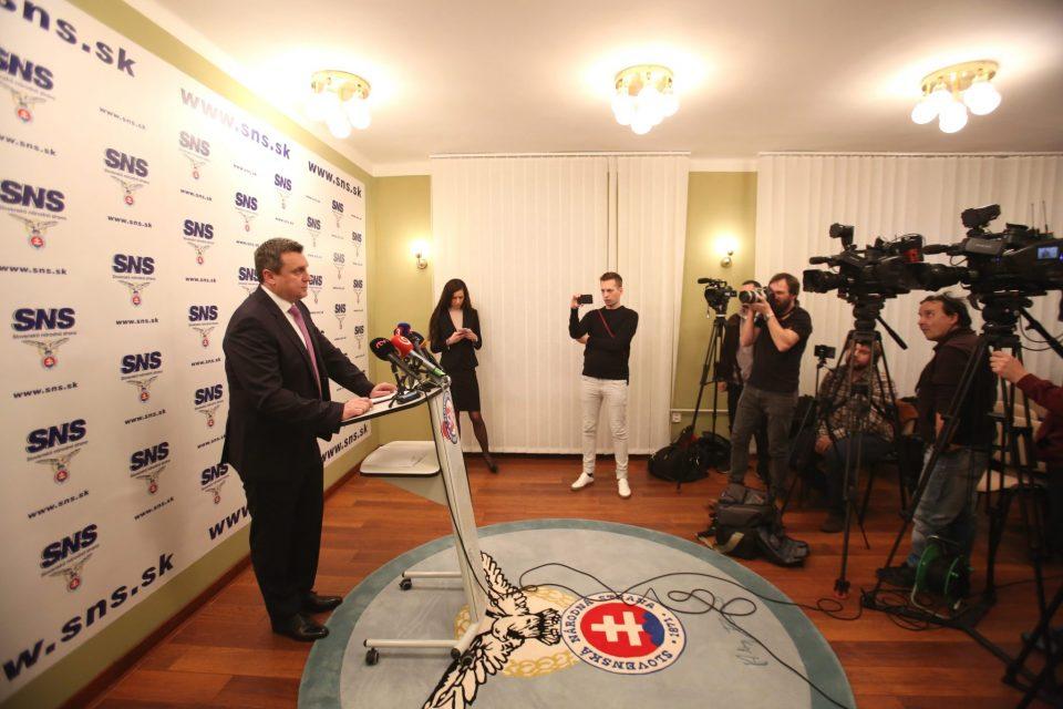 A. Danko - Zmena na kandidátnej listine SNS