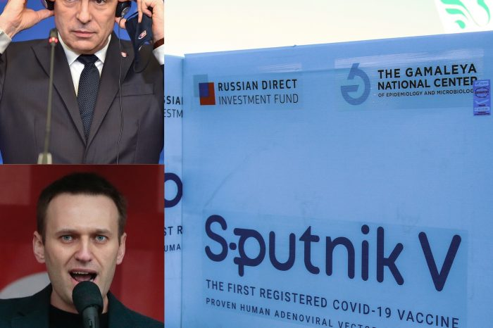 "Minister Korčok, odpoveď je aj kauza ,,Navalnyj""."