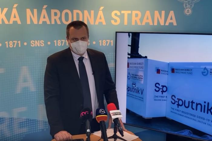 """Andrej Danko """"Stanovisko k Sputniku V"""""""