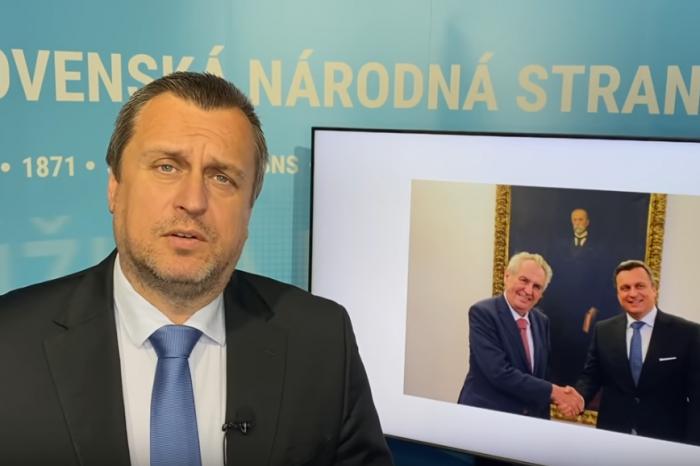 """Andrej Danko """"Skutočný prezident Zeman"""""""