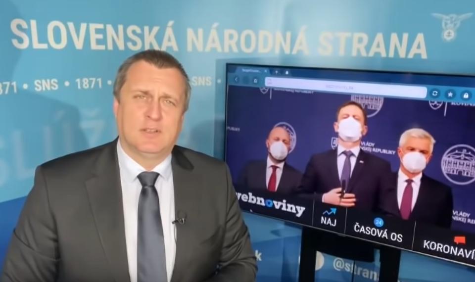 """Andrej Danko """"Zastavte sa pán Naď a pán Korčok. """""""