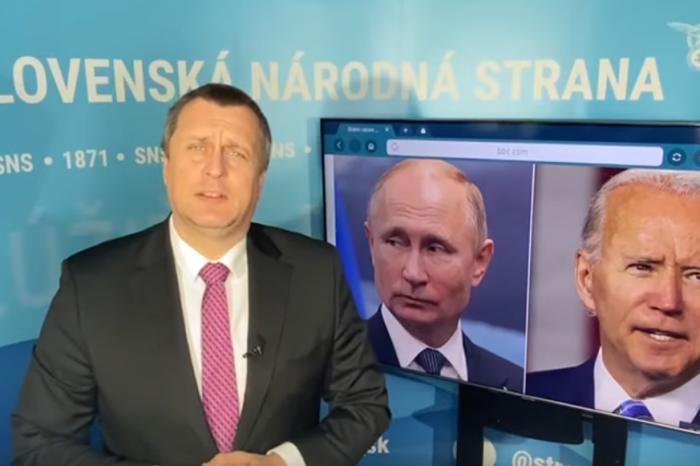 """Andrej Danko """"Putin, Biden v Bratislave?"""""""