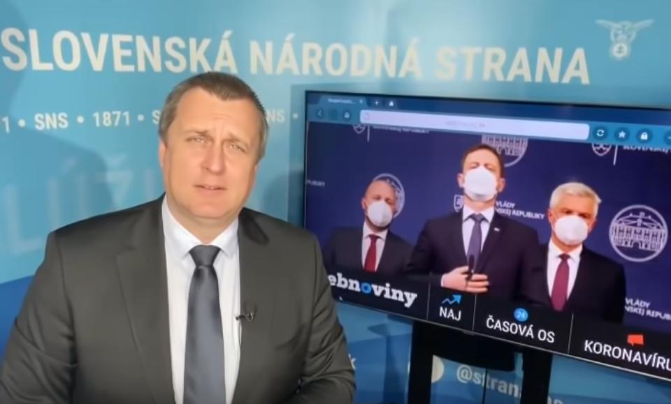 """Andrej Danko """"Zastavte sa pán Naď a pán Korčok."""""""