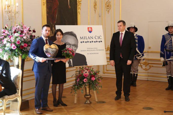 Predseda Slovenskej národnej strany Andrej Danko odmietol účasť na odovzdávaní cien Jozefa Miloslava Hurbana.